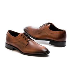 Ανδρικό παπούτσι κουστούμι δερμάτινο ταμπά Fenomilano