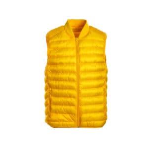 Ανδρικό ανοιξιάτικο γιλέκο κίτρινο