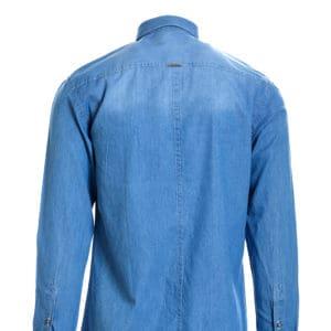 Ανδρικό πουκάμισο τζιν Vittorio