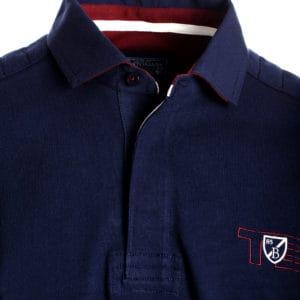 Ανδρική μπλούζα polo μπλε