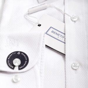 Ανδρικό γαμπριάτικο πουκάμισο Λευκό