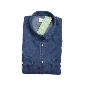 Ανδρικό πουκάμισο τζιν SS21