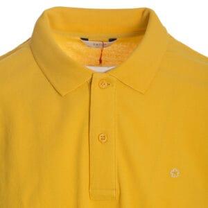 Ανδρικό πόλο μπλουζάκι κίτρινο