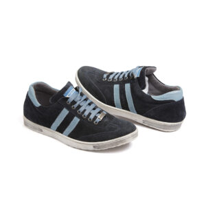 Aνδρικό παπούτσι δερμάτινο μπλε