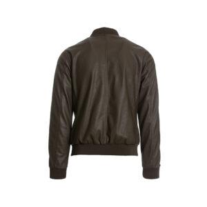 Ανδρικό jacket καφέ δερμάτινο
