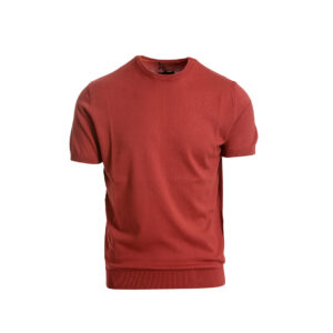 Aνδρική πλεκτή μπλούζα κόκκινη